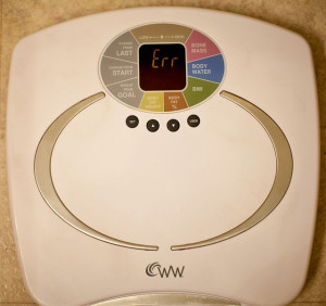 Bathroom Scale by Flickr user -Paul H- https://creativecommons.org/licenses/by/2.0/